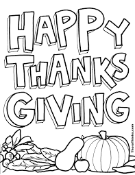 Printable Pictures Printable Coloring Pages For Thanksgiving 28 ...