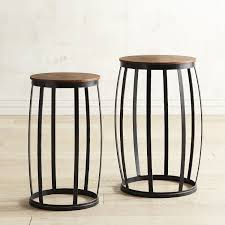 round drum accent table set pier 1 imports