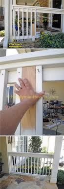 diy classic porch railing