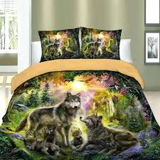 forest bedding wolf family forest bedding forest friends bedding set