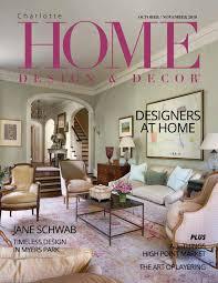 Design Nook Interiors Lafayette In Charlotte Oct Nov 2018 Issue By Home Design Decor Magazine