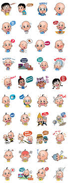 Below is the entire procedure. Upin Ipin And Friends Sticker For Line Whatsapp Telegram Android Iphone Ios