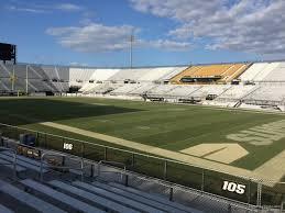 Spectrum Stadium Seating Chart Ucf Spectrum Stadium Section 105 Rateyourseats Com