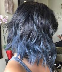 Light Blue Short Hair Ombre Short Hairstyles 2018 Trend Ombre Hair Color Short