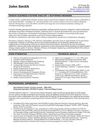 A resume template for a Software Engineer. You can download it and make it  your