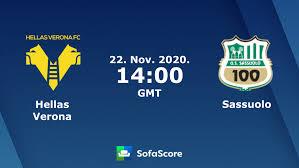 Hellas Verona Sassuolo risultati, diretta streaming e pronostico - SofaScore