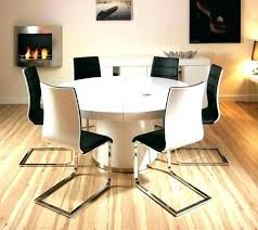 modern large dining table round dining table set for 6 modern round dining table set modern