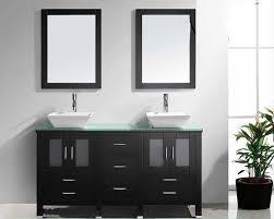 Virtu USA 60 Double Sink Bathroom Vanity Bradford Espresso VU MD 4305