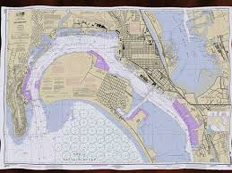 Second Life Marketplace San Diego Bay Noaa Nautical Chart