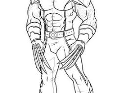 Small Picture Wolverine Coloring Pages Coloring4Freecom