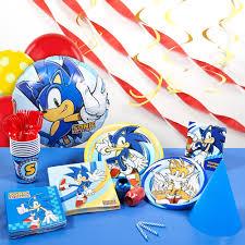 Sonic Bedroom Decor Sonic Super Deluxe Party Kit Walmartcom