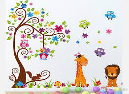 nursery wall stickers can complete a room