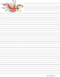 English Writing Paper Printable Kindergarten Handwriting