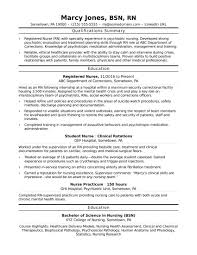 Example Of Nursing Resume Best Registered Nurse Resume Example 48 Nursing Chelshartmanme