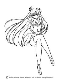 Small Picture SAILOR MOON coloring pages Sailor Neptune and Sailor Uranus