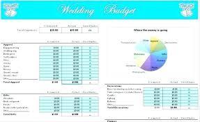 Bridal Shower Budget Spreadsheet Wedding Planning Checklist