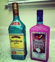 Decorative Liquor Bottles Patrone all blinged out Drink Up Bitches Pinterest 26