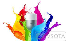 Умная <b>Лампочка Xiaomi Yeelight Smart</b> LED Color Light ...