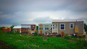 tiny house community. Austin Live Work Tiny House Community | Regulation Examples