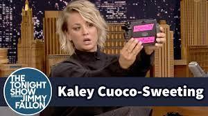 Kaley Cuoco-Sweeting Takes Polaroid Selfies - YouTube