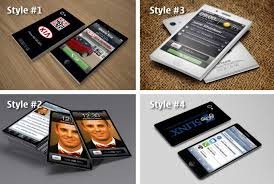 Design You An Iphone Style Business Card By Jarstickme