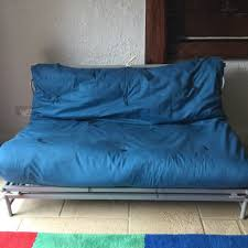 futon sofa bed for sale. Simple For Futon Sofa Bed For Sale Metal Framed Double Futon With Blue Mattress Intended Sofa Bed For Sale