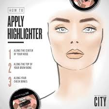 highlighting makeup up one two three and you 39 re ready to glow with maybelline 39