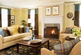 simple brown living room ideas. Fabulous Ideas For Decorating Your Home Inspiration : Simple Living Room Interior Using Cream Brown T