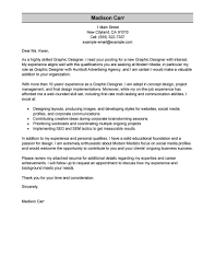 Cover Letter Sample No Work Experience Samplecover Journalism