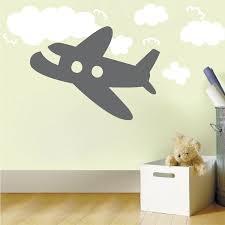 airplane wall decal airplane wall decor with decorative wall clocks