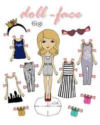 Small Picture Doll face Anna coloring page DIY Frozen inspired paper doll