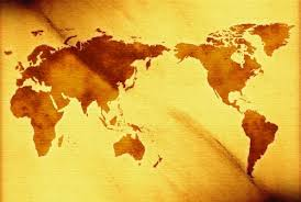 World Map Powerpoint Background For Powerpoint Templates Ppt