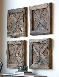 reclaimed wood wall decor rustic wall decor vintage signs clocks art wall art and more large reclaimed wood wall decor