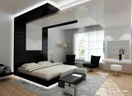 modern bedroom black and red. Stunning Modern Bedroom Black Color With Wooden Flooring Unfinished And Red