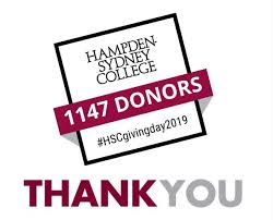 Giving Day Hampden Sydney College Giving Day 2019