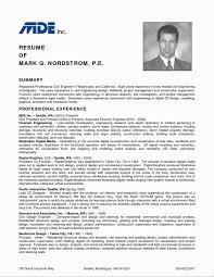 Civil Engineer Resume Sample Pdf 60 Elegant Resume Samples for Freshers Engineers Pdf Resume Cover 2