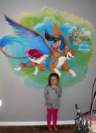 princess elena mural hand painted by pittsburgh mural artist lynne mack on hand painted wall murals artist with princess elena mural hand painted by pittsburgh mural artist lynne