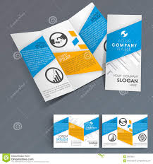 professional business three fold flyer template stock photos professional business three fold flyer template