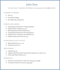 Resume For Freshers Classy How To Write A College Admission R Sum Latest Resume Format For
