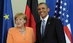 Obama y Merkel responsabilizan a Rusia de escalada de violencia en Ucrania