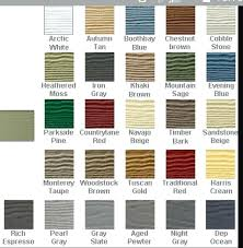 Aluminum Siding Colors Chart James Hardie Siding Colors Gallery Mahersoudah Info