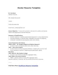 Sample Doctor Resume Resume Doctor Resume Template Sample Doctors Freshers Free Samples