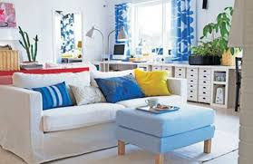 Red And Blue Living Room Decor Living Room Attractive Blue And White Living Room Blue And White