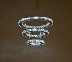 led modern k9 crystal chandelier light with 110 v