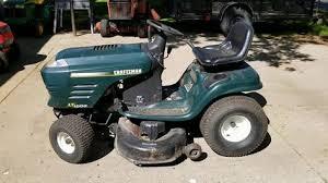 tractors craftsman lawn mower