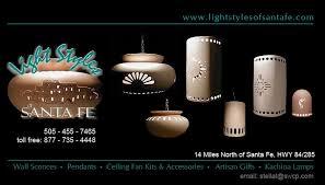 lightstyles of santa fe southwest style ceramic light fixtures