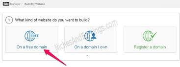 I Want To Build A Website For Free How To Build Your Own Website For Free In 4 Easy And Simple