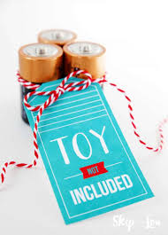 Gift Tag Design Ideas Toy Not Included Gift Idea Skip To My Lou