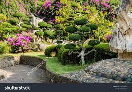 Tropical Flower Garden Landscape Designs Luxury Landscape Design Tropical Garden Beautiful Stock