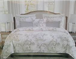 tahari home king duvet cover 3pc set morocc